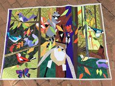 Quilt Art Designs: Woodlands Art Quilt