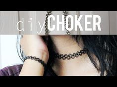 DIY Tattoo Choker - YouTube