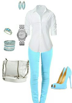 Women's fashion casual outfit