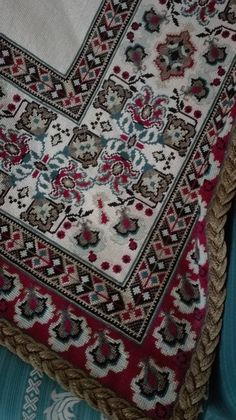 Cross Stitch Embroidery, Cross Stitch Patterns, Bohemian Rug, Bows, Throw Pillows, Fabrics, Pattern, Embroidery, Arches
