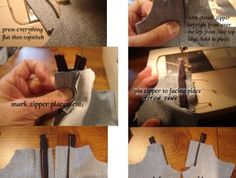How to add a zipper to the LJC Jeans | Liberty Jane Doll Clothes Patterns For American Girl Dolls