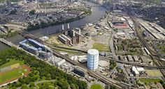 The Battersea gasholders will be demolished as part of the egenration of the site in Nine Elms