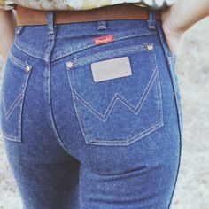 Of the Palms vintage Wrangler jeans- $52