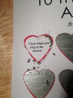 How To, How Hard, and How Much: DIY Scratch Off Valentine