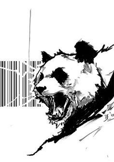 Angry Panda - Client: European Panda