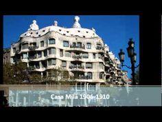 Antoni Gaudí, Vida y Obras, La sagrada Familia.wmv - YouTube