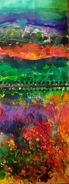 Such vibrant colours.........Release the verve, sketch jan gardner (c)
