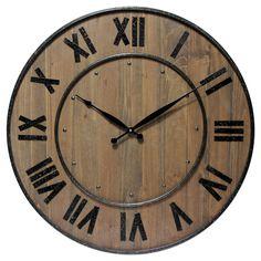 The Wine Barrel Clock