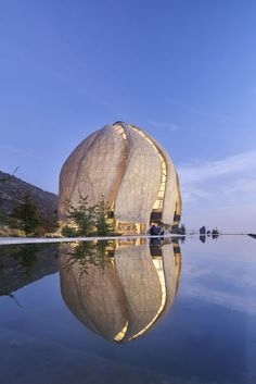 """""""In the fractured century, we can respond to a human yearning to come together"""": Baha'i Temple of South America by Hariri Pontarini Architects wins 2019 RAIC International Prize – The World Architecture Unique, Architecture Awards, Futuristic Architecture, School Architecture, Landscape Architecture, Interior Architecture, Chinese Architecture, Biomimicry Architecture, Floating Architecture"""