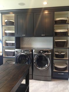 Laundry Room Colors, Laundry Room Layouts, Laundry Room Remodel, Laundry Room Cabinets, Basement Laundry, Laundry Room Organization, Laundry Room Design, Laundry Rooms, Organization Ideas