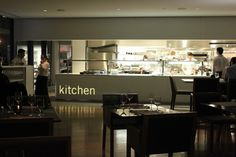 Euorpean Restaurant Design Concept | Restaurant Kitchen Designing  KITCHEN light in wall