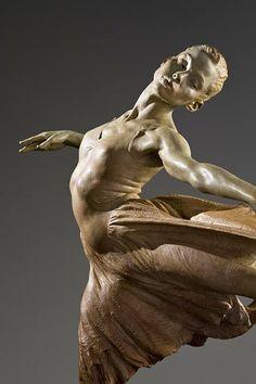 """Richard MacDonald: Modern Dance (A tánc a lélek érzéseit a test mozdulataival fejezi ki..."""" Cesare Negri)"""