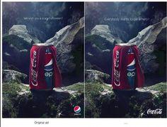 Che meraviglia la risposta di #CocaCola! Geniali!