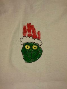 Grinch Handprint :)