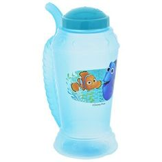 Disney Finding Dory Plastic Mug with Sipper Straw