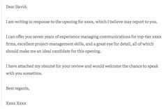 The 9 Best Cover Letter Examples What They Got Right Cover Letter Template, Email Cover Letter, Job Application Cover Letter, Cover Letter Format, Free Cover Letter, Writing A Cover Letter, Cover Letter For Resume, Letter Templates, Cover Letters