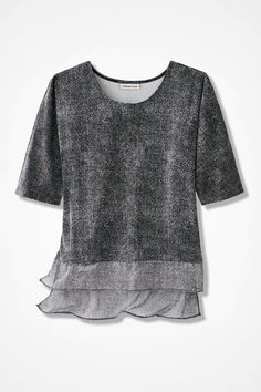 Destinations by Coldwater Creek® Shadow Dance Tunic - Coldwater Creek