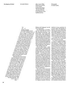This layout design is truly illustration through text - it creates an image through the layout of the slanted column. Hard to read but very interesting to look at Text Layout, Book Layout, Print Layout, Design Editorial, Editorial Layout, Typography Inspiration, Graphic Design Inspiration, Graphisches Design, Logo Design