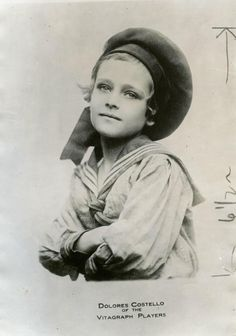 """Dolores Costello was from a family of actors. She started as a child actor in the early silent films. This image is from around This photo reminds me of her granddaughter, Drew Barrymore, when she appeared in the film """"E. Barrymore Family, Drew Barrymore, Newspaper Archives, Old Newspaper, Dolores Costello, Douglas Fairbanks, Old Fan, Child Actors, Silent Film"""