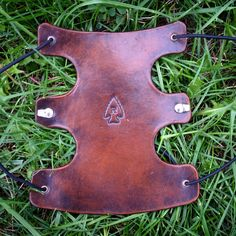 A Gully Guard / Leather Archery Arm Guard in Antique Brown from www.RasherQuivers.com #armguard #rasherquivers Archery Gear, Archery Accessories, Arm Guard, Leather Crafting, Traditional Archery, Bowhunting, Bow Arrows, Leather Projects, Leather Tooling