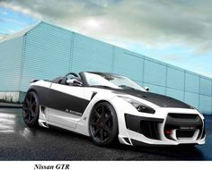Yes, it's a convertible Nissan GT-R. No, it's not official. Yes, it will cause irreparable damage to your face :)