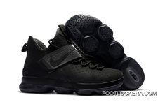 "detailed look 81268 f25cf Nike LeBron 14 ""Triple Black""Men s Size New Style"