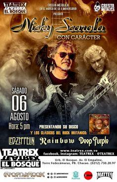 """Rock & Blues En La Cresta De La Ola presenta: Nicky Scarola """"Con Cáracter"""" http://crestametalica.com/events/rock-blues-en-la-cresta-de-la-ola-presenta-nicky-scarola-con-caracter/ vía @crestametalica"""