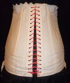 RARE Antique Edwardian 1910 Maternity Corset   eBay January 2013