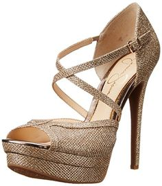 Jessica Simpson Women's Pamita Dress Pump, Gold, 7.5 M US Jessica Simpson http://smile.amazon.com/dp/B00SCV3DJO/ref=cm_sw_r_pi_dp_0YOBvb0S1N7VQ