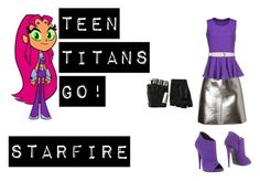 Starfire by captain-jordan-808 on Polyvore featuring polyvore and art
