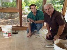 How to Install Brick Pavers Brick Pavers, Brick Flooring, Diy Flooring, Floors, Flooring Ideas, Floor Design, House Design, Bathroom Vinyl, Diy Network