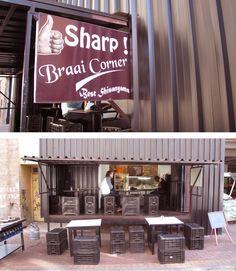 Braai Corner, The Maboneng Precinct, Johannesburg Small Restaurants, Bbq Area, It Gets Better, Potpourri, Live Life, South Africa, Stuff To Do, Coffee Shops, Grills