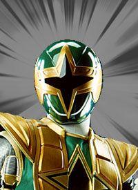Power Rangers  Ninja Storm the green rangers is naylor