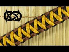 How to make the Solomon-V Bar Paracord Bracelet - YouTube