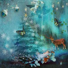 L'ENFANT EST NE Enchanted Christmas  Photo: Marika Burder Photography Christmas Photos, Enchanted, Digital, Photography, Painting, Art, Kid, Painting Art, Xmas Pictures
