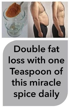 Double Fat Loss With One Teaspoon Of This Miracle Spice Daily #DoubleFatLossWithOneTeaspoonOfThisMiracleSpiceDaily