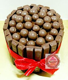 Mini Chocolate Nutella Kit Kat All Maltesers Cake