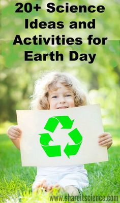 Get kids involved this Earth Day and everyday! Over 20 great ideas and activities for learning about our planet, reducing, reusing, recycling and conserving. Gardening, Citizen Science and more!