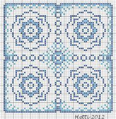 Creative Workshops from Hetti: SAL Delfts Blauwe Tegels, Deel 9 - SAL Delft Blue Tiles, Part 9., Expanded Tile 9