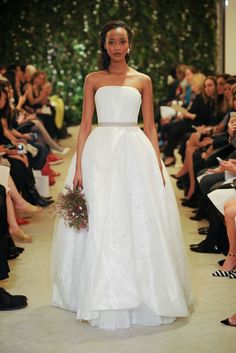 Vestido noiva 2016 Carolina Herrera  Vestido noiva tomara que caia