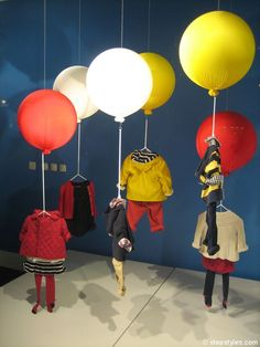 stepstyles - shop window decoration in London A/W 2012/13 - www.stepstyles.com
