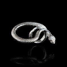 3 Finger Serpent Ring
