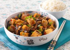 Sichuan-style 'Fish Fragrant' Aubergine with Tofu Recipe: Cook Vegetarian Magazine Vegetarian Magazine, Vegetarian Cooking, Vegetarian Recipes, Vegetarian Lunch, Tofu Recipes, Asian Recipes, Ethnic Recipes, Savoury Recipes, Chinese Recipes