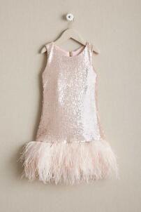 Girls Zoe Nora Sequin Dress