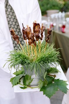 V. Sattui Winery Wedding: Passed Appetizers
