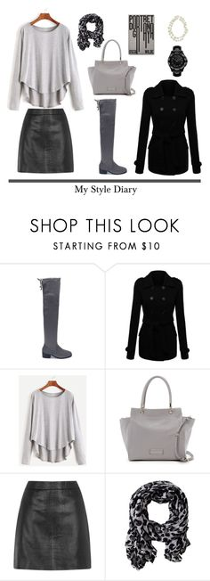 """My Style Diary"" by jane-doe-1977 ❤ liked on Polyvore featuring Marc by Marc Jacobs, Gérard Darel, Nelly Accessories and Karl Lagerfeld"