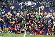 Barca lần thứ 5 giành chức vô địch Siêu cúp Châu Âu
