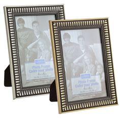 """Plastic Photo Frames, 4x6"""" Write a review Be the first to Write a Review.  SKU#:     207540  Product Details Constructed of sturdy plastic with a protective glass pane, these art deco frames have a textured finish that looks lovely in any home or office setting. Each frame holds a 4x6"""" photo, and comes"""