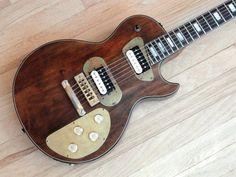 1976 Les Paul Recording Vintage Electric Guitar Steampunk w/ hsc Wolfetone | Reverb
