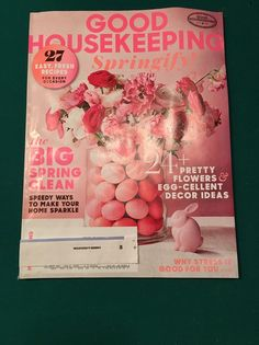 GOOD HOUSEKEEPING  Magazine - Springify Issue  - April, 2016